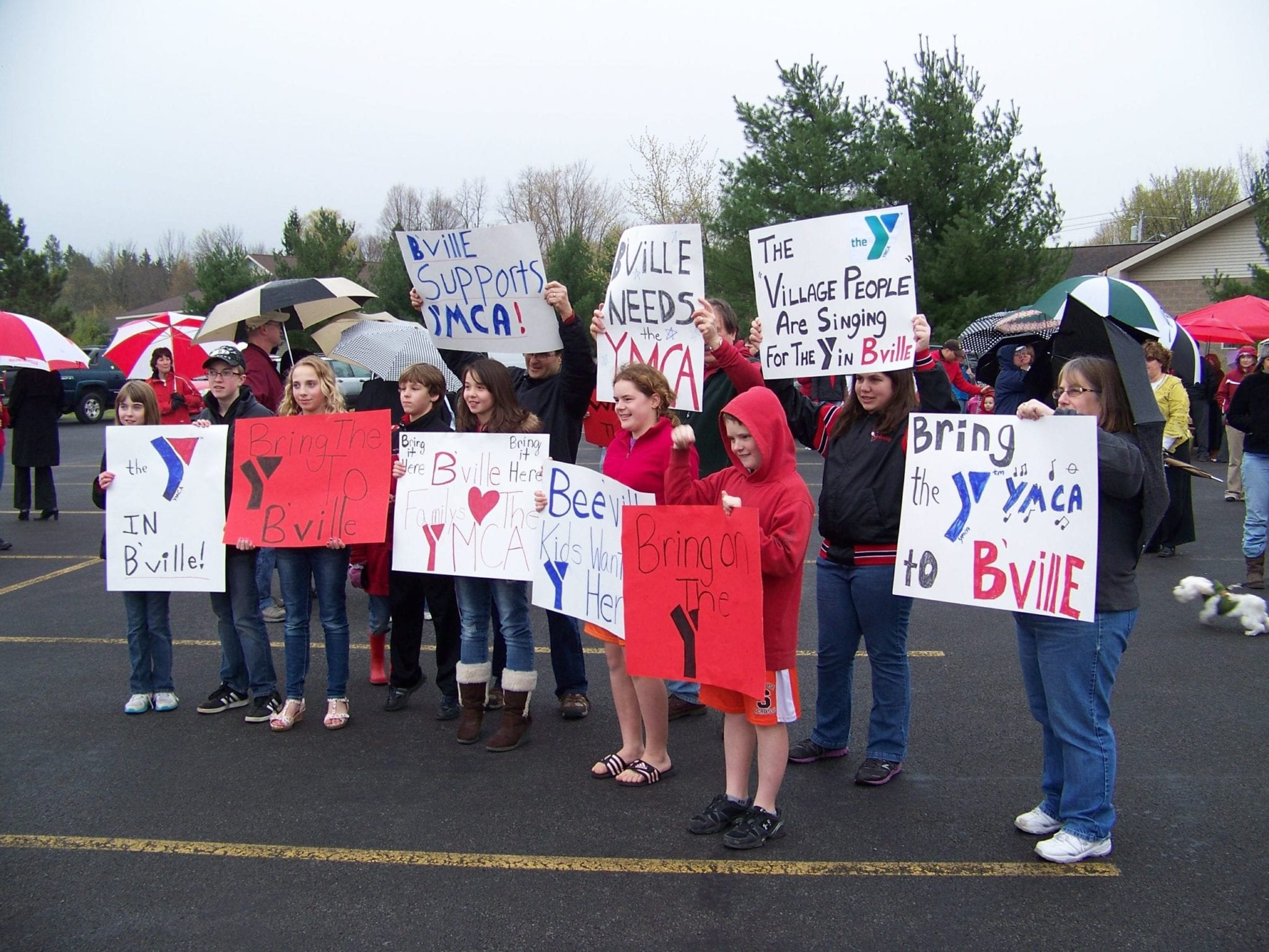 B'ville shows support for Y in village
