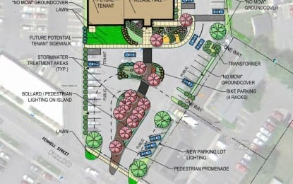 Skaneateles village board discusses future of parking lot, vacant building space