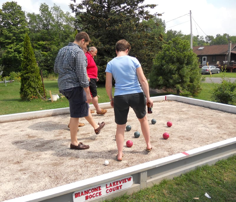 Area resident to form bocce league