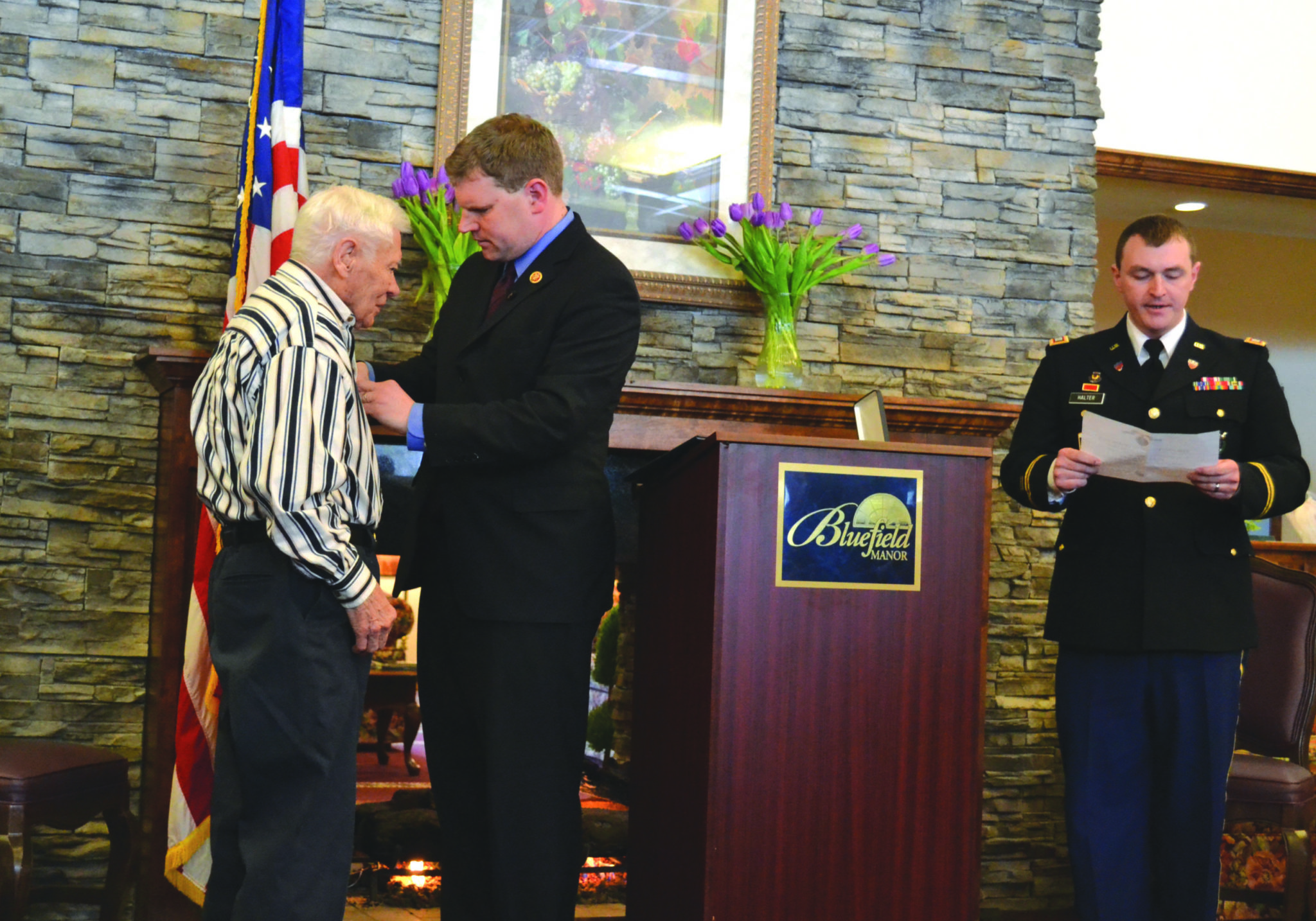 Long-time Skaneateles man receives Purple Heart he originally turned down