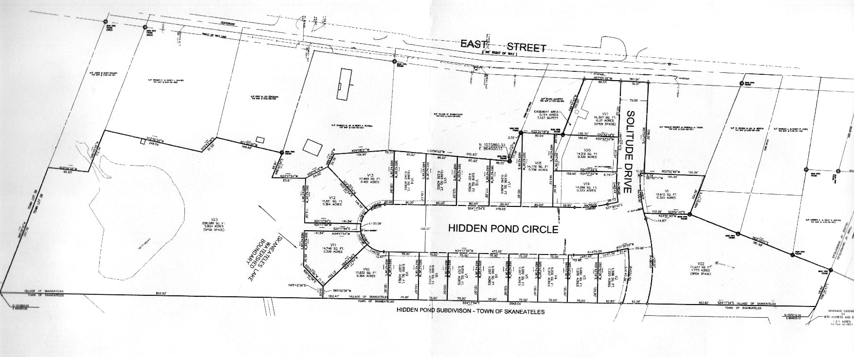 Developer proposes 21-house subdivision in village