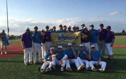 CBA baseball roars to sectional Class A title