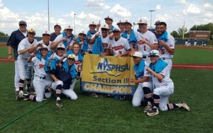 Bearcats win first-ever sectional baseball title