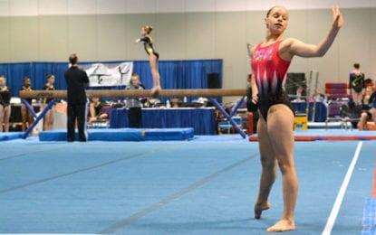 Manlius youth earns gold in Level 6 New York State Gymnastic Championship