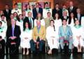 CBA grads and alumni dads at 2016 graduation ceremony