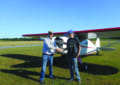 Marcellus pilot goes solo