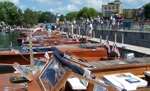 Skaneateles boat show this weekend