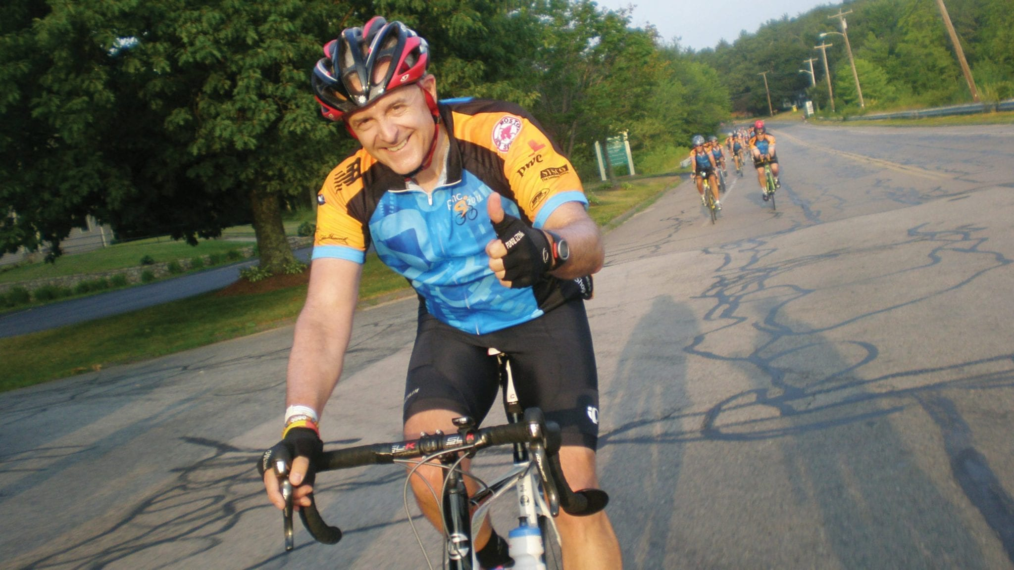 B'ville cyclist takes part in charity ride