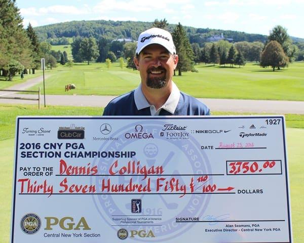 Colligan wins CNY PGA Professional Championship