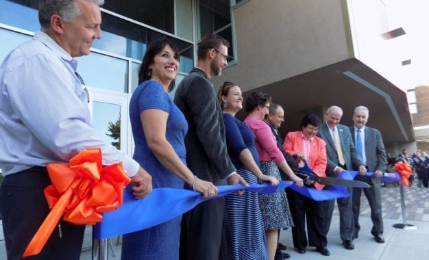 A Greener, Greater Grove: Pine Grove Middle School celebrates rededication ceremony after two-year construction