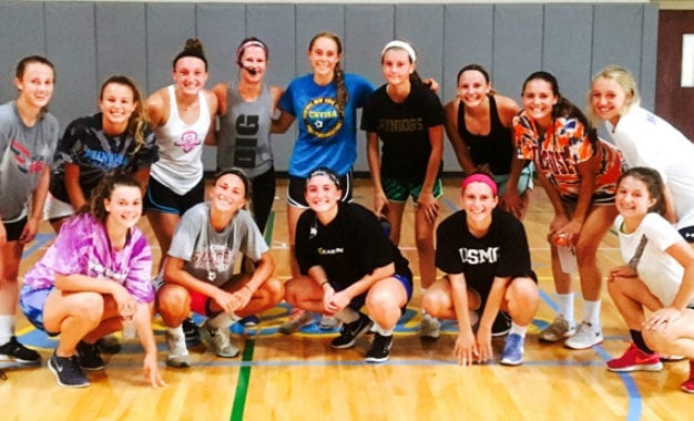 INSANE WORKOUT: Lady Lakers varsity girls soccer team training for success