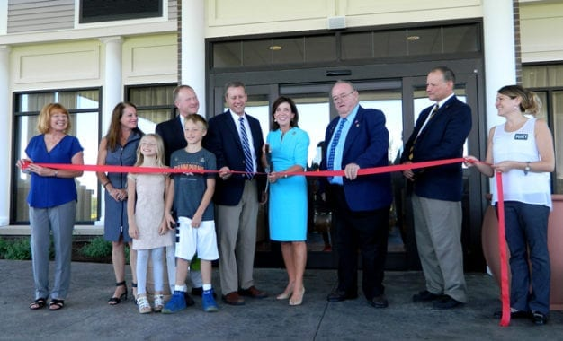 'CUT A RIBBON ON A DREAM' – Hampton Inn and Suites Cazenovia holds official grand opening