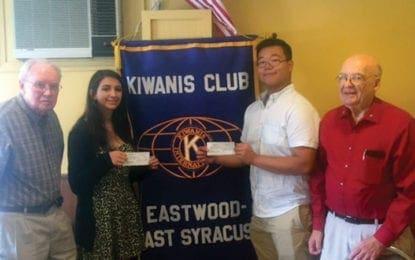 ESM Key Club members receive scholarships