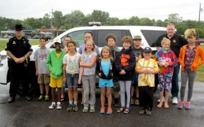 Local children attend state sheriffs' association summer camp