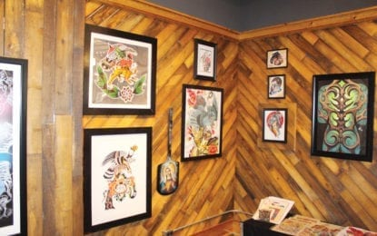 Visible ink: Tymeless Tattoo unveils gallery