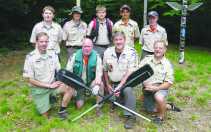 Scouts complete challenge