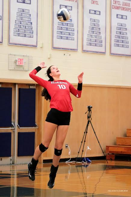 Girls volleyball Bees sweep Liverpool