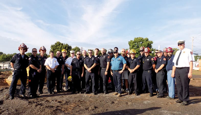 Groundbreaking ceremony held for Manlius Fire Station