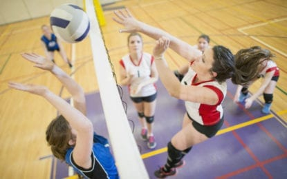 Caz volleyball sweeps duel with Skaneateles