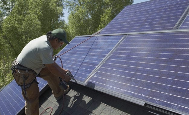 Town board reintroduces law to regulate solar power and energy systems in the town