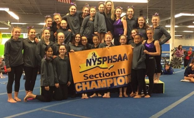 J-D/F-M gymnasts roar to sectional team title