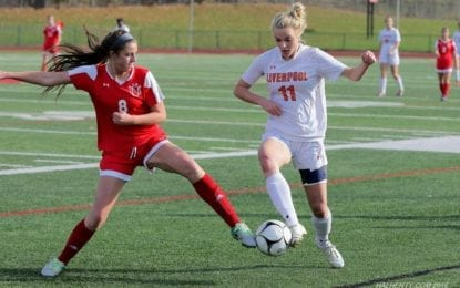 Liverpool soccer sides stopped in regionals