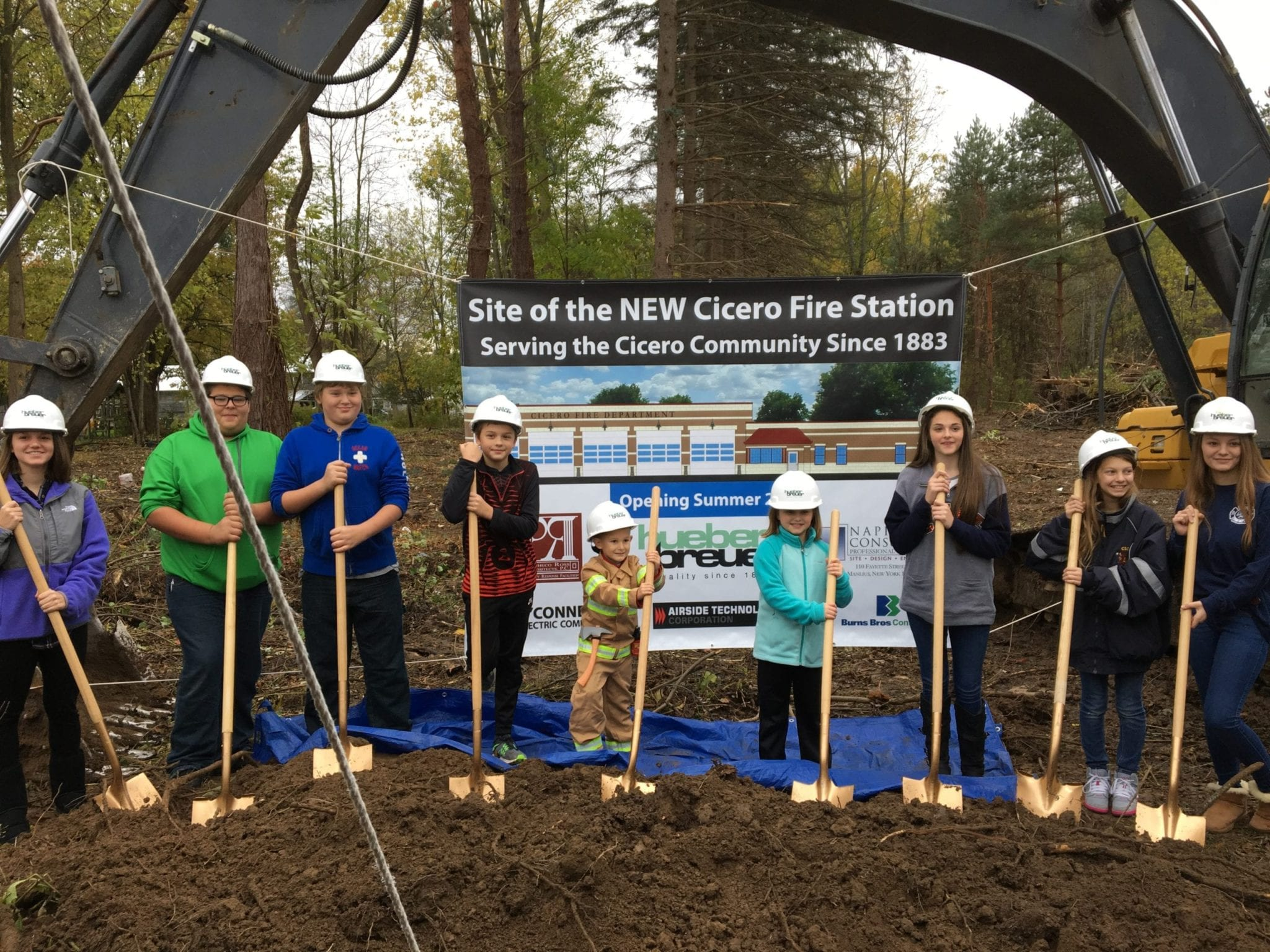 CFD breaks ground on new station