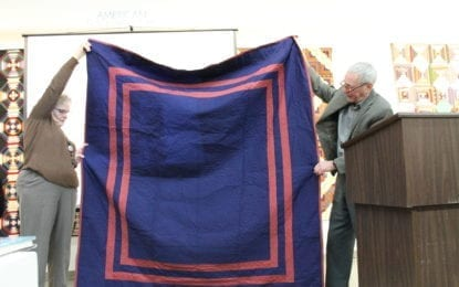 Cazenovia quilt collector curates historical quilt exhibit at Schweinfurth