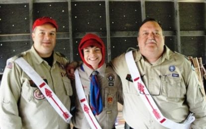 Three generations of local family earn Boy Scouts Order of the Arrow 'Brotherhood Membership'