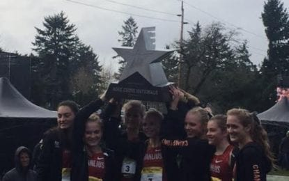 Hornets roll to 10th cross country national title