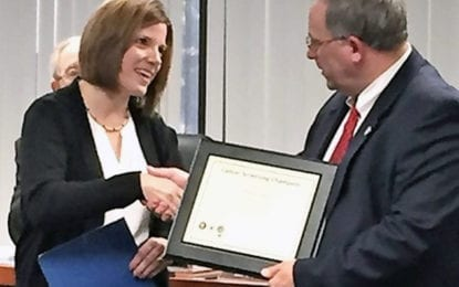 Madison County receives cancer screening champion award
