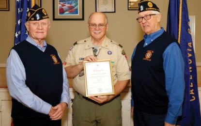 Post 88 becomes chartered organization for Boy Scout Troop 18