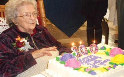 Remembering Clay: Ruth Lewis celebrates 100th birthday