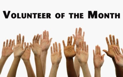 Volunteer of the Month: Celebrate National Volunteer Week — April 23 to 29