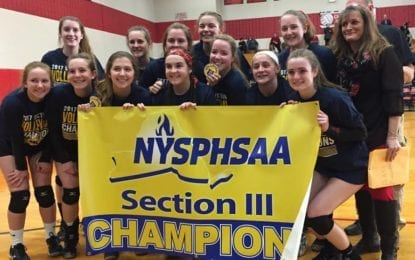 Volleyball Bears end 39-year sectional title drought