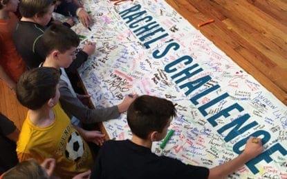 Over $13K raised for Rachel's Challenge program