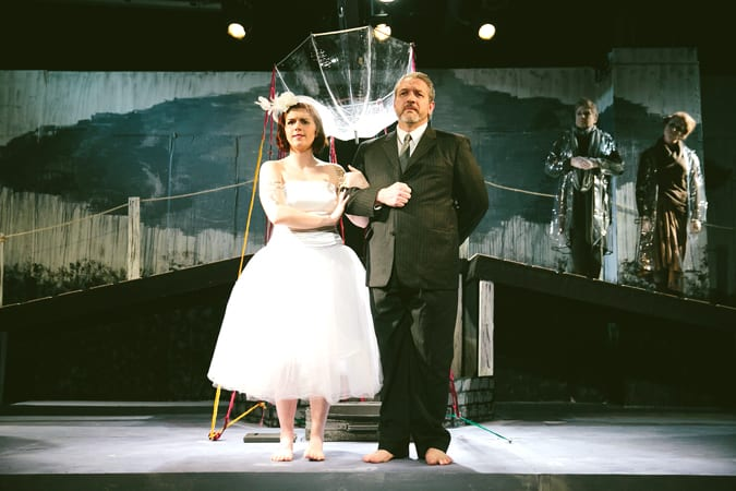 Theater Review: Voices from the underworld – Three leads breathe life into offbeat CNY Playhouse production of 'Eurydice'