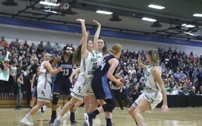 Grimes falls to Ludden in girls hoops sectional final