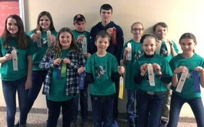 Madison County 4-H Dairy Bowl teams have strong showing at district competition