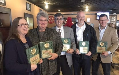 Cicero residents honored by CNY Recreation and Parks Society