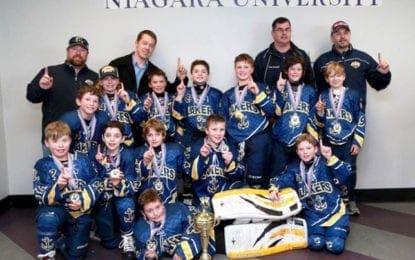 Regional travel hockey team wins tournament