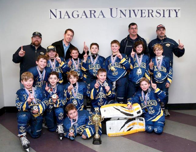 Regional travel hockey team wins tournament