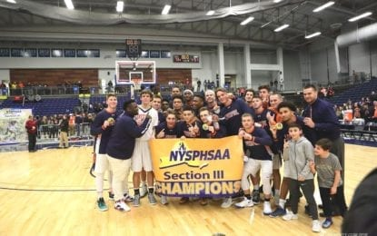 Boys basketball Warriors roar to sectional AA title
