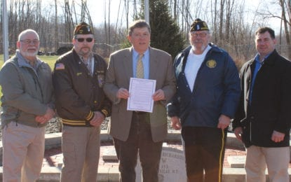 Local officials present Memorial Day proclamation