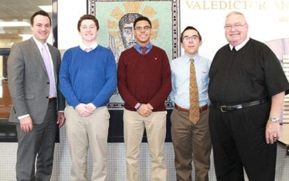 Three CBA students finalists in 2017 National Merit Scholarship Program