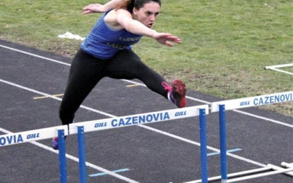 Track girls open season with a win