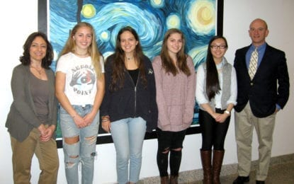 Four J-D students earn Scholastic Art and Writing Awards