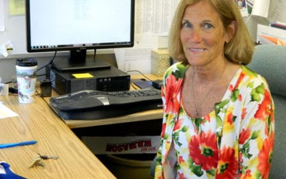 Caz middle school principal named administrator of the year by OCM BOCES