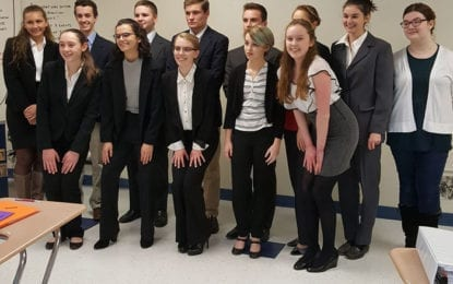 CHS Mock Trial team heading to county finals