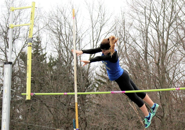 GIRLS TRACK: Field athletes lead Lakers to victory over J-E